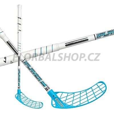 UNIHOC RePlayer Curve 1,0° STL 26 white/blue 16/17