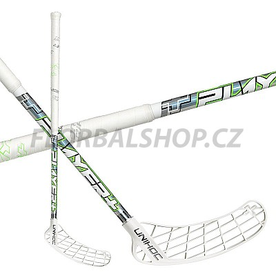 UNIHOC Player+ Curve 2,0° 26 white/neon green 16/17
