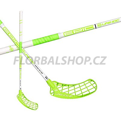 UNIHOC Epic Curve 1,0° 32 white/neon green 17/18