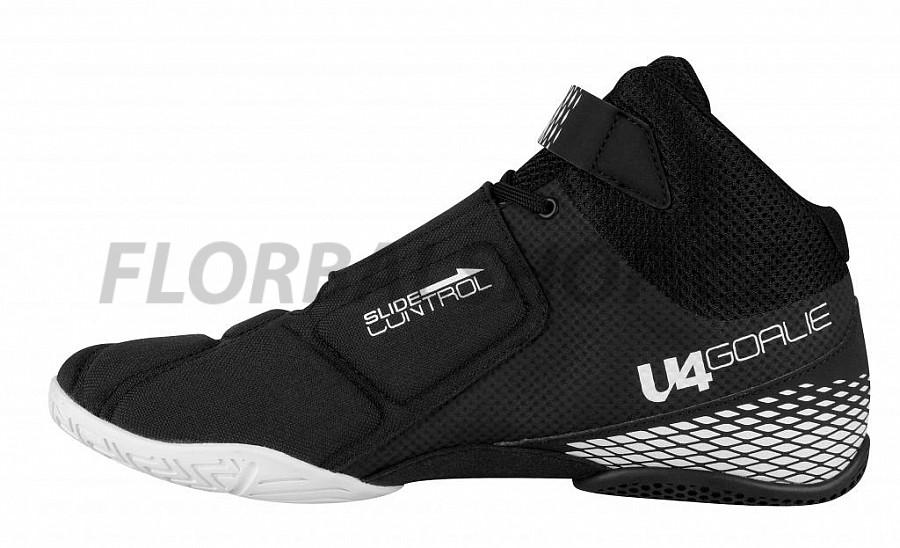 Unihoc U4 Goalie black brankářská obuv  e229426679