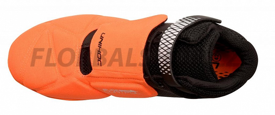 Unihoc U4 Goalie neon orange black brankářská obuv. Unihoc U4 Goalie neon  orange black brankářská obuv c6785c4884