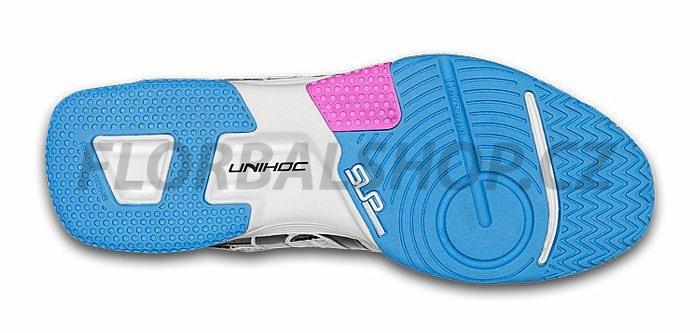Unihoc U3 Power Lady white blue florbalová obuv  7dac41acc84