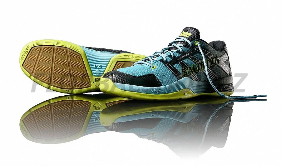 Salming Race X Men Turquoise sálová obuv  527eede339