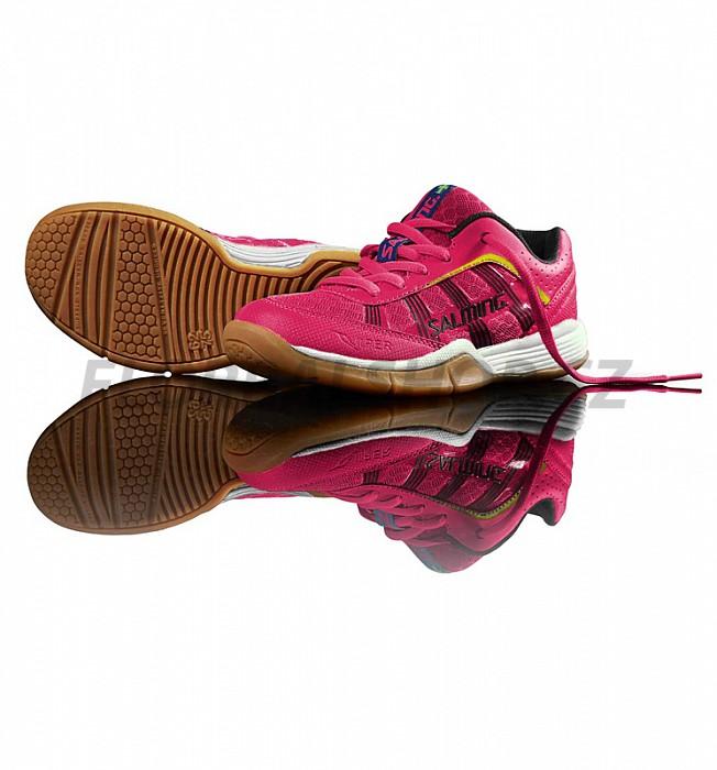 ea89d7e2b9f Salming Viper Kid Pink Glo sálová obuv