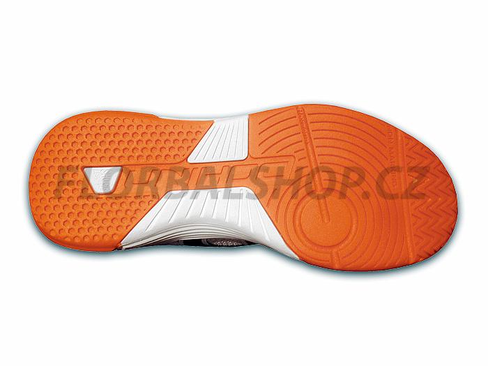 6556664db58 Unihoc U3 Junior white orange florbalová obuv