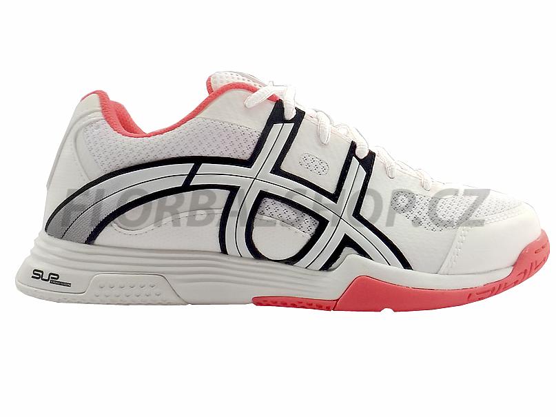 Unihoc U3 Elite Lady white coral florbalová obuv  1fa48f671d4