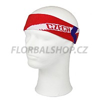 EXEL čelenka CZECH REP. HEADBAND RED