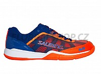 SALMING Falco Men Limoges Blue/Orange Flame sálová obuv
