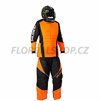 Salming Atlas JR brankářský set + maska Core Helmet Black 18/19
