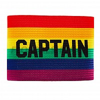 SALMING Team Captain Armband Rainbow kapitánská páska