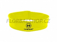 Unihoc čelenka Wrapper mid neon yellow