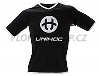 Unihoc dres Dominate black/white SR