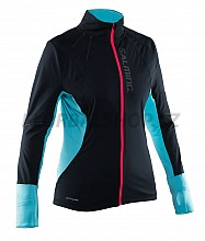 Salming Run Thermal Wind Jkt Women Black/Turquoise