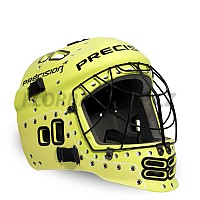 PRECISION GOALIE HELMET junior yellow/black