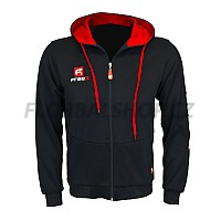 FREEZ VICTORY ZIP HOOD black/red senior