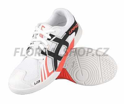 54b693fff40 Unihoc U3 JR White-Neon Red 18 19