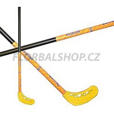 Florbalový set MPS Jungle mini Green (10 hokejek)  0082f0c831