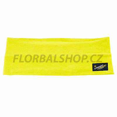 Unihoc čelenka Omega wide neon yellow 5b7356438e